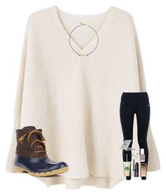"""Going to Nashville for my 4th Christmas!!!!"" by mae343 ❤ liked on Polyvore featuring MANGO, NIKE, Sperry, Vanessa Mooney, Clinique, Urban Decay, Essie, Mikimoto and Speck"