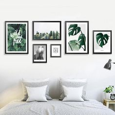 Nordic Style green leaves plant posters and prints sheet wall art books canvas Painting pictures for Living Room Home Decoration. Category: Home & Garden. Subcategory: Home Decor. Home Decor Wall Art, Bedroom Decor, Horse Wall Art, Decoration Plante, Cactus Wall Art, Living Room Pictures, Poster Wall, Nordic Style, Painting Pictures