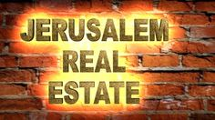 JERUSALEM REAL ESTATE I CAN HELP YOU RANK FOR JERUSALEM REAL ESTATE