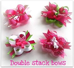 How to make Boutique Hair bows with Easy Make Bow by EasyMakeBows, $12.99