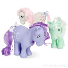 Blossom, Snuzzle and Minty (G1)