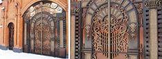 Кованые ворота и калитки Одесса, Киев: цена, фото - Художественная ковка Одесса Прессмаш