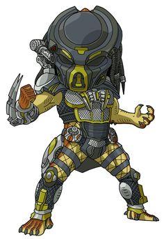 fugitive predator by benisuke Humanoid Creatures, Future Soldier, Alien Vs Predator, Alien Art, Star Wars Poster, Monster Art, Art Pictures, Comic Art, Horror