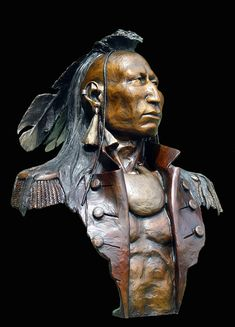 """Catawba"" bronze sculpture by James A. Ford ""Catawba"" bronze sculpture by James A. Art Sculpture, Bronze Sculpture, Metal Sculptures, Abstract Sculpture, American Indian Art, Native American Indians, Catawba Indians, Native American Pictures, 3d Fantasy"