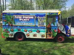 Ricos Pinchos Place Food Truck serving up Puerto Rican Faire to the lucky residents of Buffalo, New York.