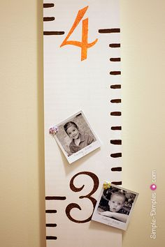 My idea: Growth Chart  -- with picks of books by authors height -- students can add their names...see how they measure up.