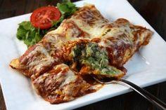 Zucchini- Beef Enchiladas | Recipe Girl
