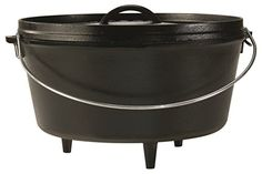 Lodge L12DCO3 Deep Camp Dutch Oven, 8-Quart Lodge http://www.amazon.com/dp/B00008GKDW/ref=cm_sw_r_pi_dp_Wk4lwb0Q740SM
