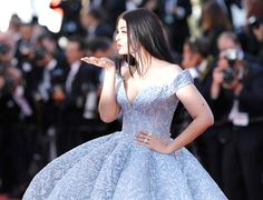 Trending New Celebrity Looks: Cannes 2017 WERQ: Aishwarya Rai Bachchan Unleashes the Full Cinderella, STYLE SHOTS FIRED:   Miss Aishwarya just informed every single other celebrity lady attendee of the Cannes Film Festival that they best GO BIG or they