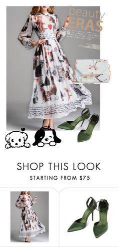 """dress"" by masayuki4499 ❤ liked on Polyvore featuring Burberry and Ted Baker"