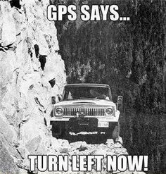 We supply driving directions to our cabins in your check-in packets. Yet, surprisingly, we still hear stories from people about how their GPS took them up/down logging roads. :)