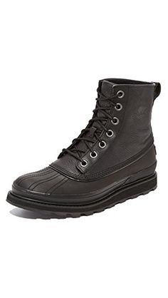 designer fashion 65088 1246d Sorel Mens Madson Waterproof 1964 Boots Black DM US     You can find more  details by visiting the image link. (This is an affiliate link)