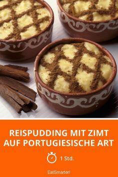 Reispudding mit Zimt auf portugiesische Art | http://eatsmarter.de/rezepte/reispudding-mit-zimt-auf-portugiesische-art