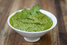 Clean Eating Cilantro PestoClean Eating Cilantro Pesto (Makes 1 1/2 cups) Ingredients:  1/2 cup extra virgin olive oil 1 cup raw walnut pieces 2 cups fresh cilantro 1/2 cup grated real parmesan cheese Salt to taste Directions:  Place all ingredients in a blender and blend until smooth. (Depending on your blender, this could take as much as 5 minutes. But it's worth the not-so-long wait!)
