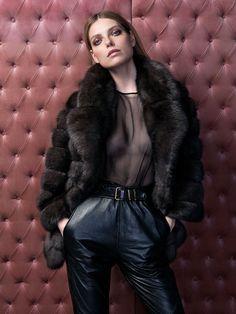 Adv campaign Fall Winter 2017/2018 #adv #campaign #fallwinter1718 #fashion #fur #newcollection #leather #classy #luxury #braschifur
