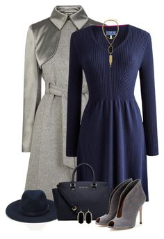 Designer Clothes, Shoes & Bags for Women Winter Night Outfit, Night Outfits, Chic Outfits, Feminine Dress, Classy Dress, Office Fashion, Work Fashion, Polyvore Outfits, Polyvore Fashion