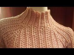 Crochet top blouse english 43 new Ideas Beau Crochet, Pull Crochet, Crochet Baby, Knit Crochet, Crochet Jacket, Crochet Blouse, Crochet Designs, Crochet Patterns, Crochet Summer Tops