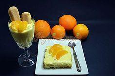 Tiramisu de portocale