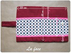 Le Mercredi c'est tuto #4 : Le protège carnet de santé – Tata Cousette Sewing Patterns, How To Make, Diy, Health Book, Cover, Images, Photos, Scrappy Quilts, Sewing Ideas