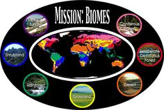 "Mission: Biomes Navigation - love this idea for my dd10, as she can explore it herself and there are even ""missions"" she can do"