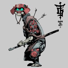 ArtStation - Chess, thaigraff nat Game Character Design, Character Design Animation, Character Creation, Character Design References, Character Drawing, Character Design Inspiration, Character Concept, Arte Robot, Cyberpunk