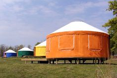 7 cozy tipis and yurts that make you feel right at home | Inhabitat - Green Design, Innovation, Architecture, Green Building
