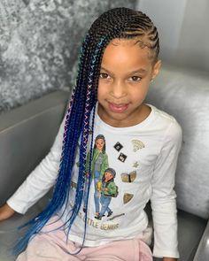 Limonade vlechten # vlechten - braided hairstyles For Little Black Toddler Girl Hairstyles, Black Kids Braids Hairstyles, Ghana Braids Hairstyles, Lemonade Braids Hairstyles, Lil Girl Hairstyles, Braided Hairstyles For Black Women, Braids For Black Women, African Hairstyles, Thin Hairstyles