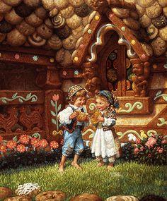 Hansel and Gretel by Scott Gustafson