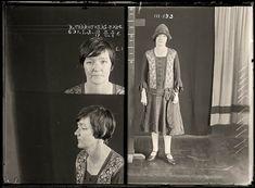 Portraits de criminels australiens dans les années 1920   La boite verte
