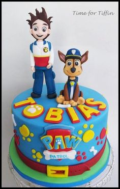Paw Patrol  - Cake by Time for Tiffin