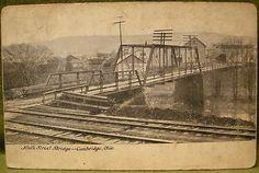 Cambridge, OH, Guernsey County, Ninth St Bridge - 1911