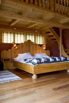 Hotel room at Fryksås Hotel in Dalarna