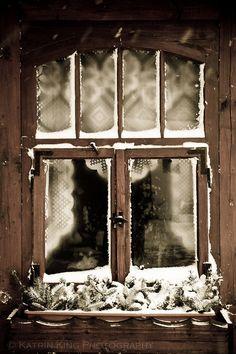 Winter Window by Katrin King