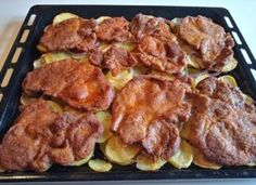 Easy Entertaining, Tandoori Chicken, Italian Recipes, Main Dishes, Bacon, Pork, Food And Drink, Favorite Recipes, Meals