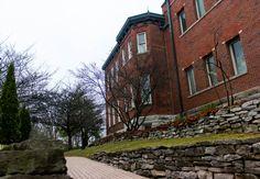 Bartholomew Consolidated School Corporation historic building. Photo by Shannon Malanoski