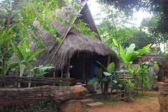 A hut in an Akha village taken by a GoEco volunteer