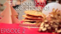 Tous fous de chocolat - Les cookies pralinés à la noisette