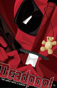 Deadpool_Mike_Mahle_Marvel_Poster_Posse