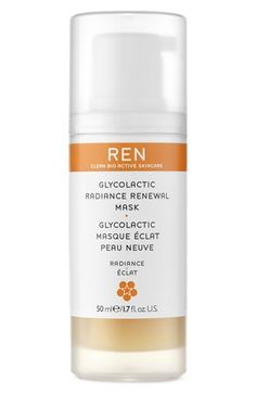 REN Radiance Renewal Glycol Lactic Mask | Truly skin changing! One of the only masks I've used that I notice an immediate improvement.