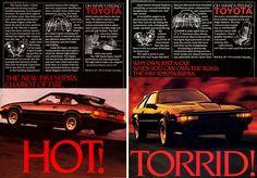 Original North American Ads for the 1984 Toyota Supra