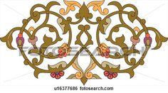 pintura em mdf de arabescos - Pesquisa Google