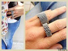 Tutorial su come fare gli anelli di cerniera : islaura