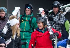 Prince Harry Cressida Bonas Skiing