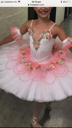 Solo Dance Costumes, Tutu Costumes, Ballet Costumes, Tutu Ballet, Ballerina Costume, Dance Outfits, Dance Dresses, Sleeping Beauty Ballet, Tutu Tutorial