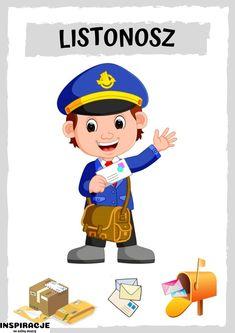 Community Helpers, Kindergarten, Teaching, Education, School, Boys, People, Character, Learning