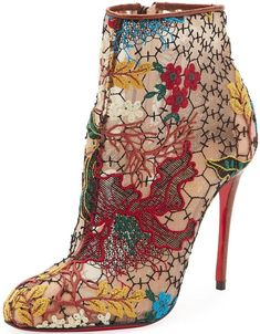 Christian Louboutin 'Miss Tennis' Ankle Boots