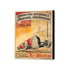 """Grand Prix Automobile de Bourgogne (20"""" x 16"""")"""