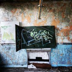 alter klassenraum #alt #verlassen #urbex #lostplace