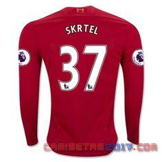 Camiseta manga larga Skrtel Liverpool 2016 2017 primera