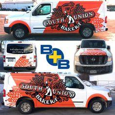 South Union Bakery full vehicle wrap